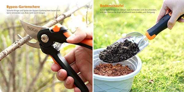 Set de 3 Herramientas de Jardinería TACKLIFE chollazo en Amazon