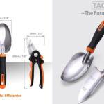 Set de 3 Herramientas de Jardinería TACKLIFE barato en Amazon