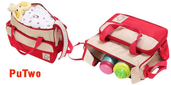 Set cambiador para bebé de 5 piezas (Varios modelos) chollo en Amazon