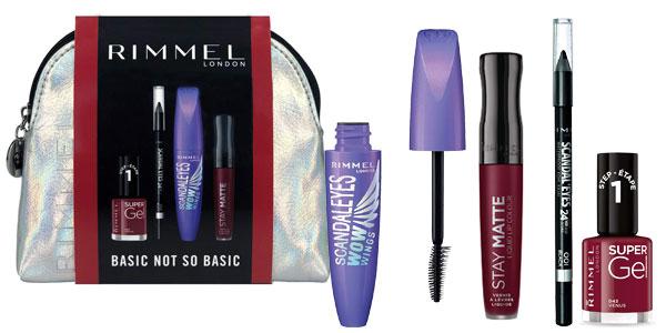 Set de Maquillaje Rimmel London Basic Not So Basic barato en Amazon