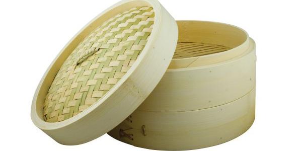 Vaporera bambú Swift Spice Set de 25 cm barata en Amazon