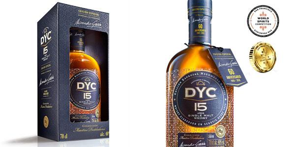Whisky DYC 15 años edición especial 60 aniversario barato en Amazon