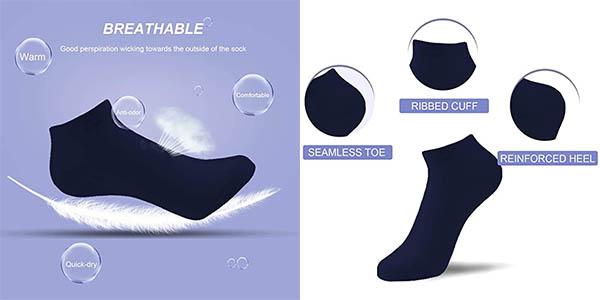 calcetines bajos Caudflor relación calidad-precio estupenda