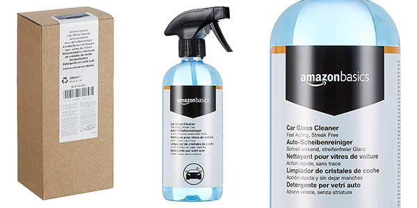 Amazon Basics spray limpiacristales barato