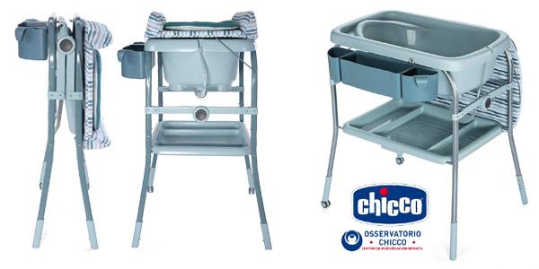 Bañera cambiador compacta 2 en 1 Chicco Cuddle & Bubble, 10 kg barata en Amazon