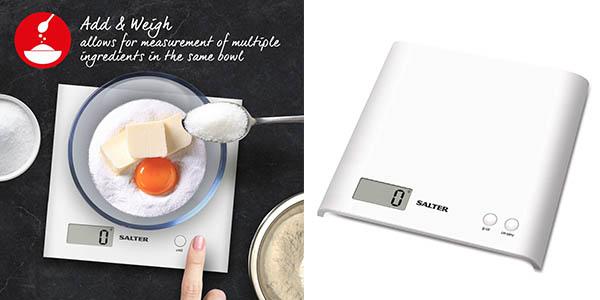 báscula de cocina Salter 1066 WHDR15 barata