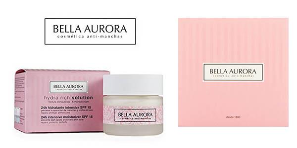 Bella Aurora Hydra Rich Solution SPF15 crema barata