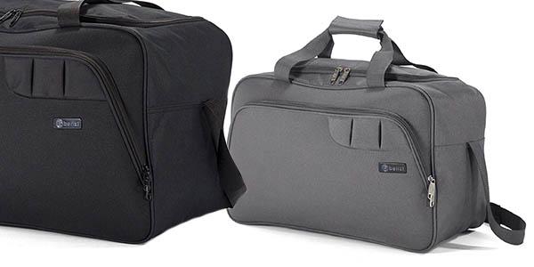 bolsa de viaje tamaño cabina Benzi con medidas de Ryanair oferta