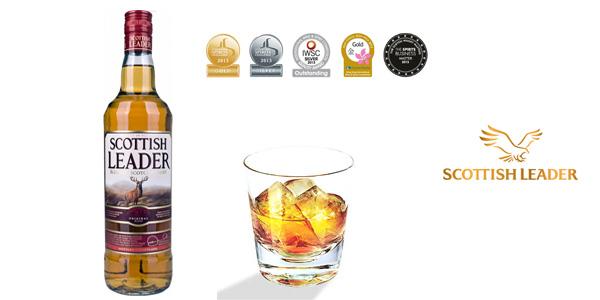 Botella Scottish Leader Blended Scotch Whisky de 700 ml chollo en Amazon