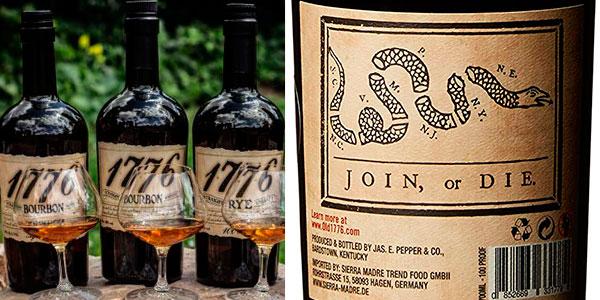 Bourbon James E. Pepper 1776 de 700 ml barato