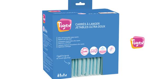 Pack x20 Cambiadores desechables para bebé Tigex barato en Amazon