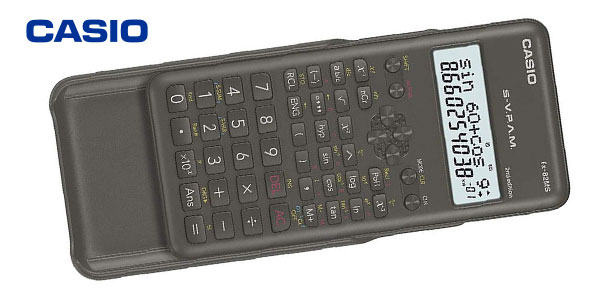 Calculadora científica Casio FX-82MS-2-S-ET-B gris chollo en Amazon