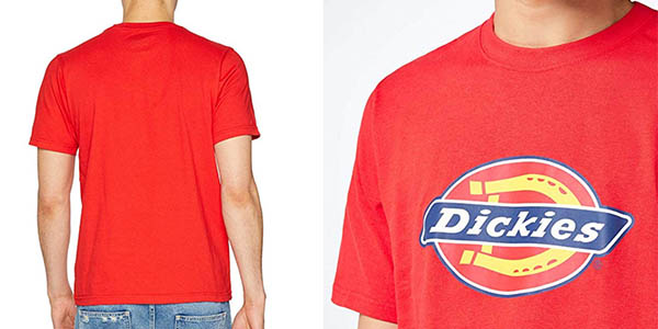 camiseta de algodón Dickies Horseshoe chollo