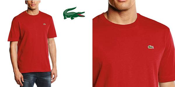 Camiseta Lacoste para hombre barata en Amazon