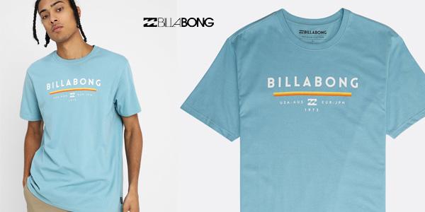 Camiseta de manga corta BILLABONG Unity tee SS para hombre chollo en Amazon