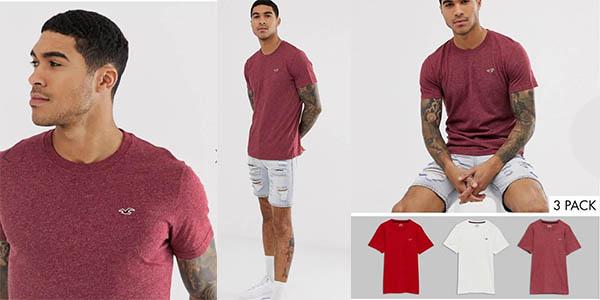 camisetas Hollister baratas