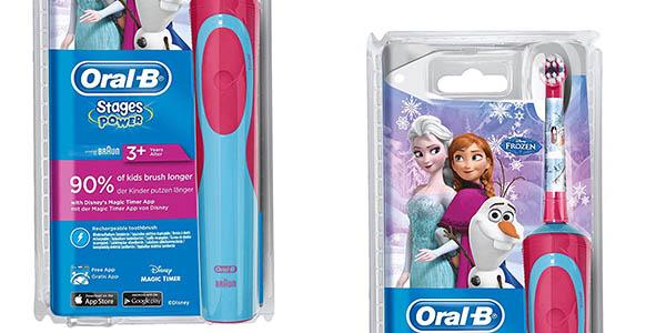 cepillo de dientes eléctrico infantil Oral-B Frozen chollo