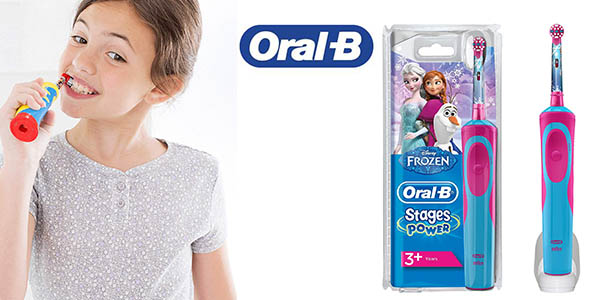 cepillo Oral-B Stages Power Kids Frozen barato