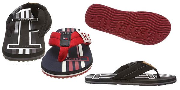 chanclas Tommy Hilfiger Badge Textile Beach Sandal relación calidad-precio estupenda