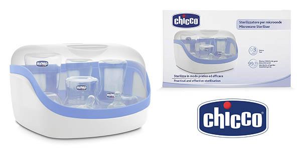 Chicco SterilNatural esterilizador para biberones de microondas barato