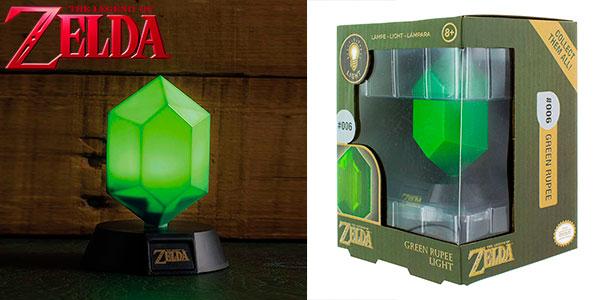 Chollo Lámpara The Legend of Zelda Rupee