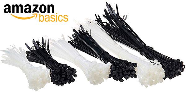 Chollo Pack AmazonBasics de 300 bridas de nailon