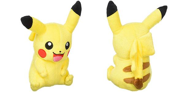 Peluche Pikachu de Pokémon de 20 cm barato