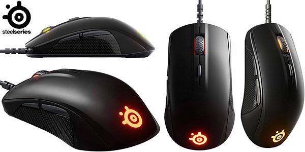 Chollo Ratón óptico gaming SteelSeries Rival 110 de 6 botones