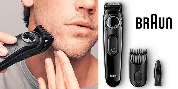 Chollo Recortadora de barba Braun BT3022