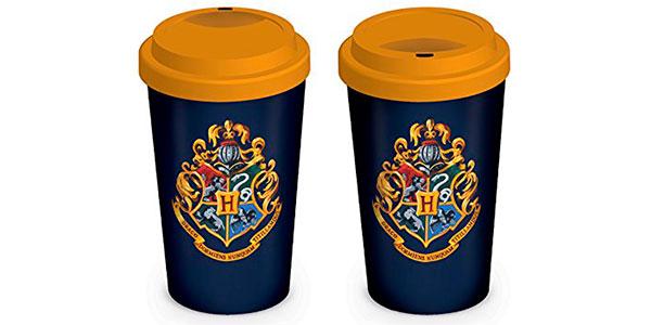 Chollo Taza cerámica de Harry Potter con tapa
