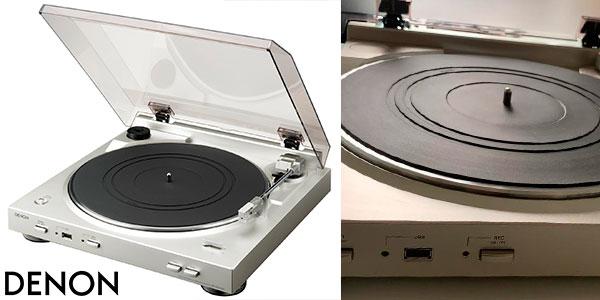 Chollo Tocadiscos Denon DP-200 USB