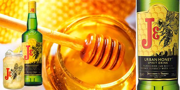 Chollo Whisky J&B Urban Honey de 700 ml