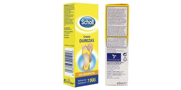Scholl Crema para Durezas Pies de 60 ml barata en Amaozn