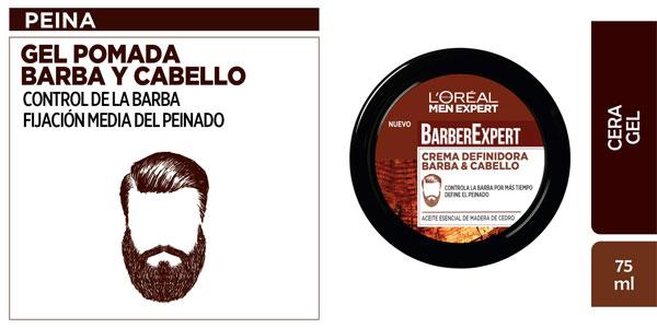 L'Oréal Paris Men Expert Barber Club Crema para Definir la Barba y el Cabello de 75 ml barata en Amazon