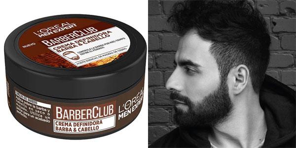 L'Oréal Paris Men Expert Barber Club Crema para Definir la Barba y el Cabello de 75 ml chollo en Amazon