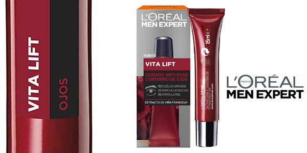 L'Oréal Paris Men Expert Vitalift Contorno de Ojos Anti-Edad de 15 ml barato en Amazon