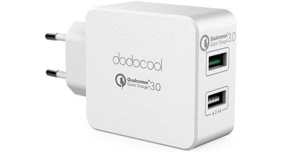 cargador Dodocool USB de 30W con Quick Charge 3.0
