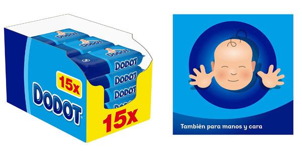 Dodot toallitas para bebe baratas en Amazon