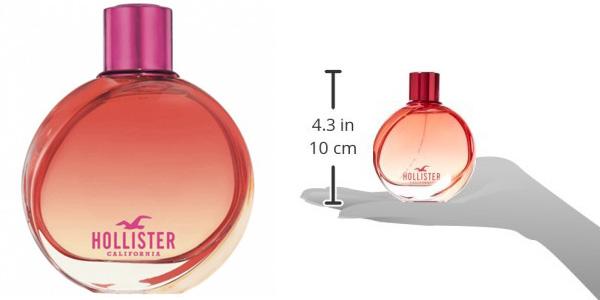 Eau de parfum Hollister Wave 2 para mujer de 100 ml chollo en Amazon