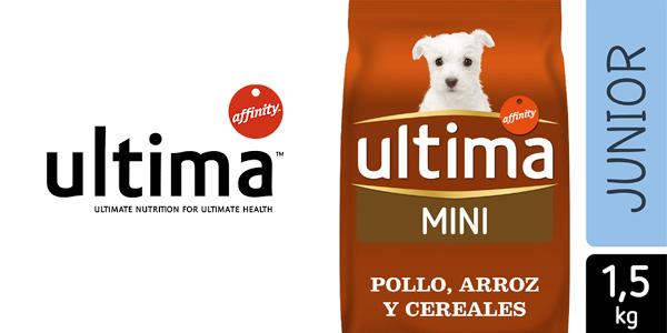Comida Seca Ultima Dog Special Mini Junior de 1,5 kg barato en Amazon