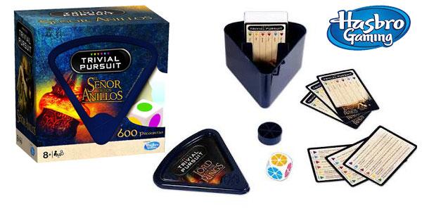 Expansión Trivial Pursuit El señor de los anillos (Hasbro Gaming 10285) barato en Amazon