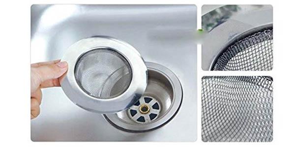 filtro para desagüe de fregadero relación calidad-precio estupenda