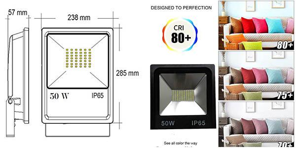 foco Atomant Led para exterior relación calidad-precio estupenda
