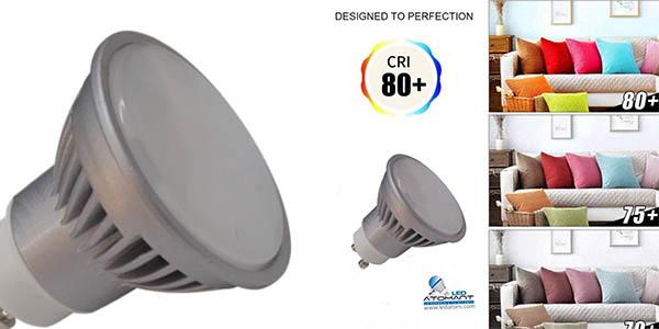 foco LED Atomant GU10 7 vatios relación calidad-precio estupenda