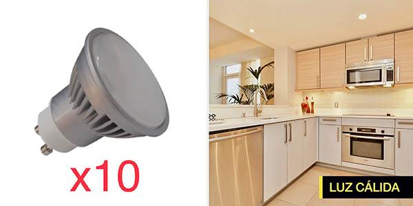 Focos GU10 Atomant LED 7W baratos