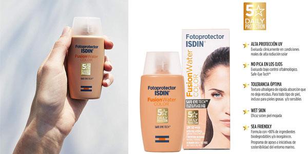 Fotoprotector ISDIN Fusion Water Color SPF 50 de 50 ml chollo en Amazon