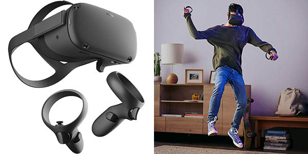 Realidad virtual Oculus Quest sin cables