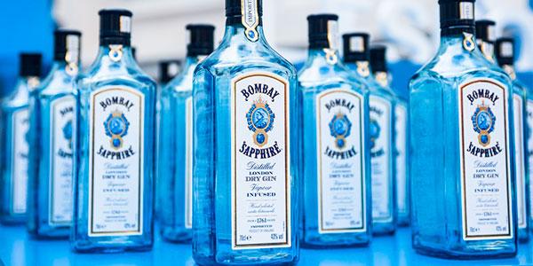 Ginebra Bombay Sapphire de 700 ml barata
