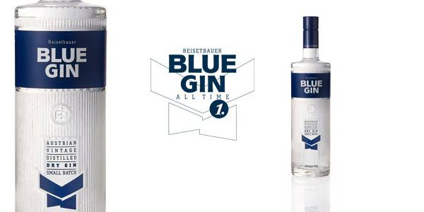 Botella Ginebra Blue Gin Austrian Vintage Dry Gin de 700 ml barata en Amazon