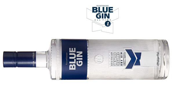 Botella Ginebra Blue Gin Austrian Vintage Dry Gin de 700 ml chollo en Amazon